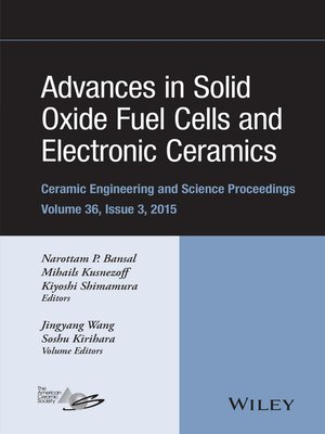 cover image of Advances in Solid Oxide Fuel Cells and Electronic Ceramics